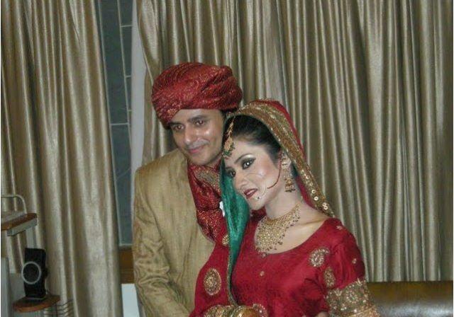 Stani Drama Actress Sana Askari Wedding Pics