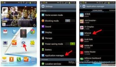 Cara Menghapus Aplikasi di Android