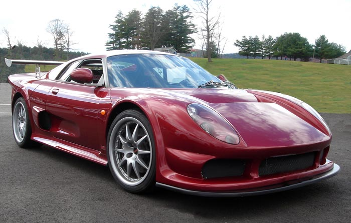 noble m15 the car was based on a brand new