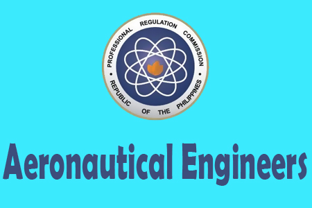 Top 10 Aeronautical Engineers Board Exam Passers November 2012