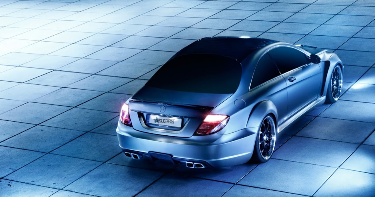 All Cars New Zealand Mercedes Benz Cl63 Amg Black Edition 2012 Wide Body By Famous Parts