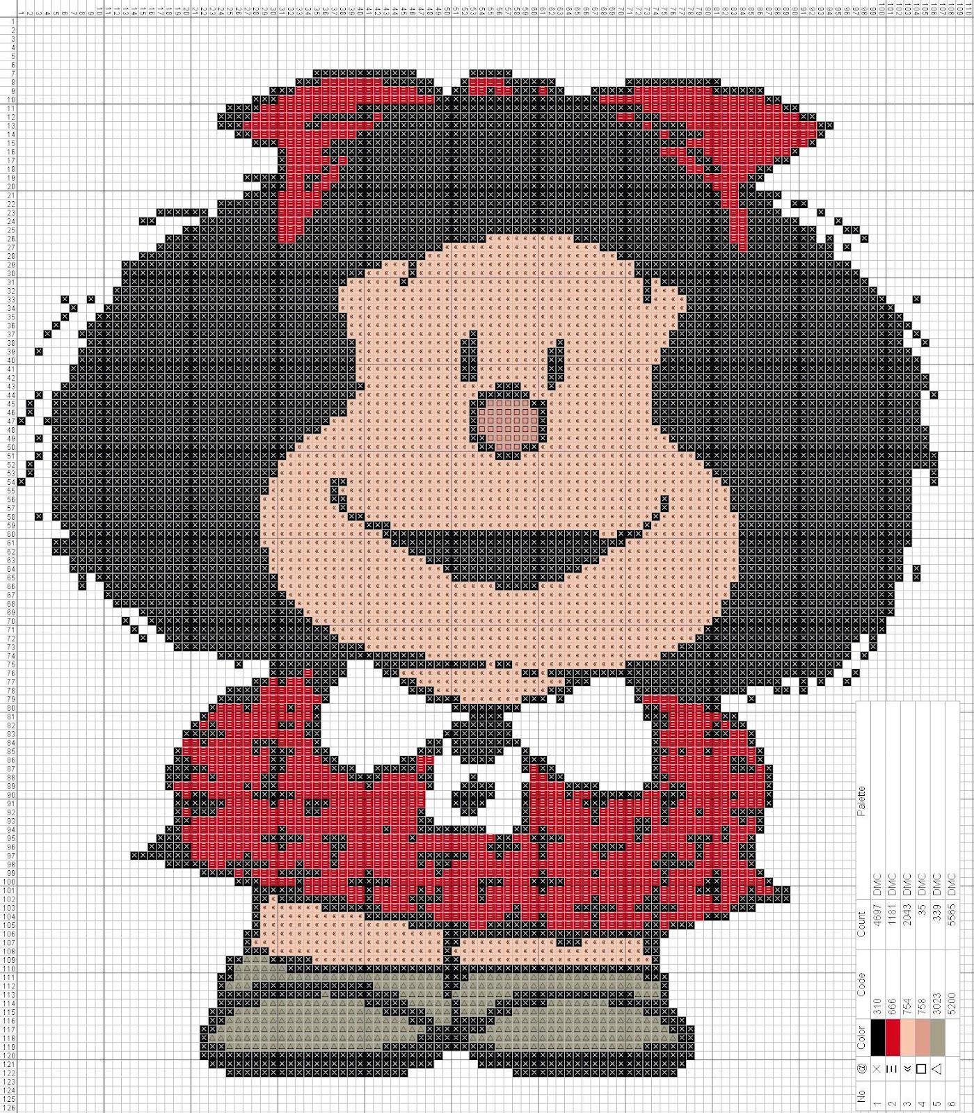 Dibujos punto de cruz gratis mafalda punto de cruz - Videos de punto de cruz ...