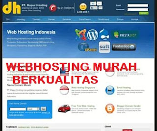 Webhosting Murah