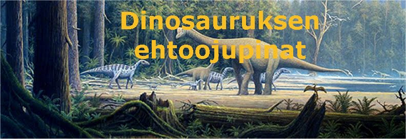 Dinosauruksen ehtoojupinat