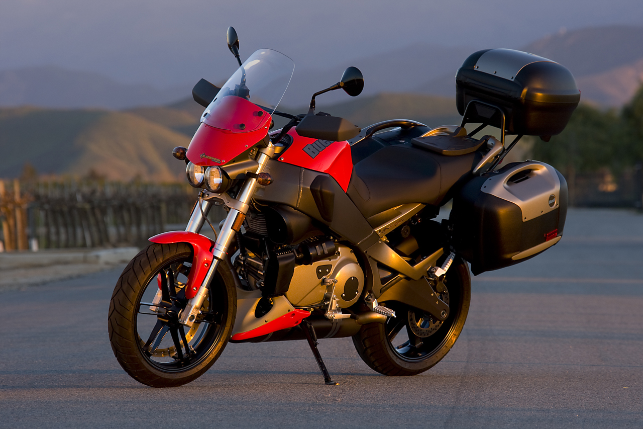 Bike World Express: 2008 Buell Ulysses XB12XT Review