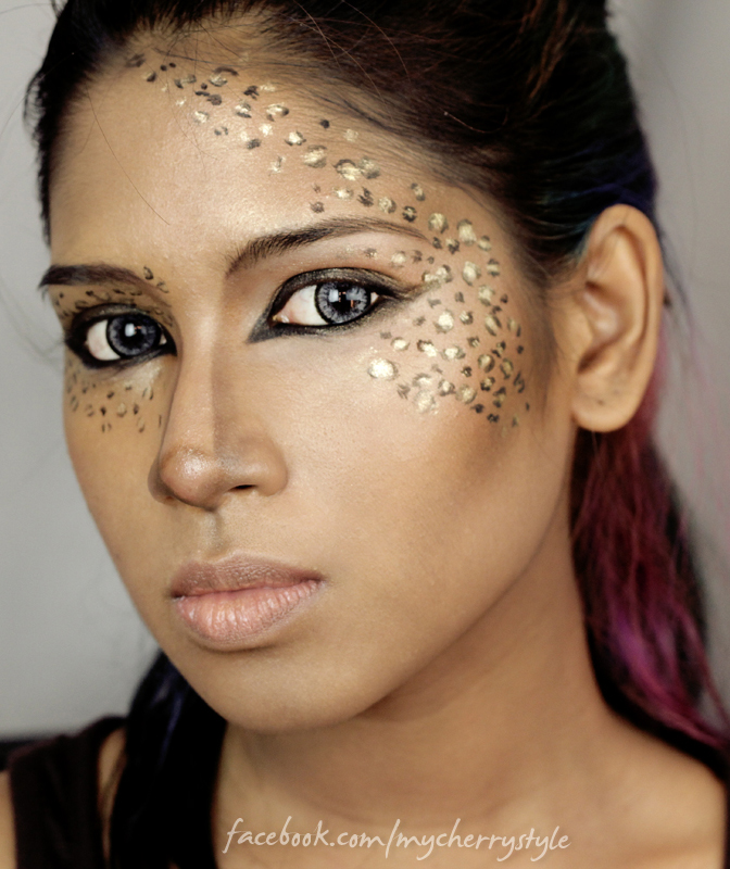 Creative Makeup Leopard Print Smokey Eye Tutorial My