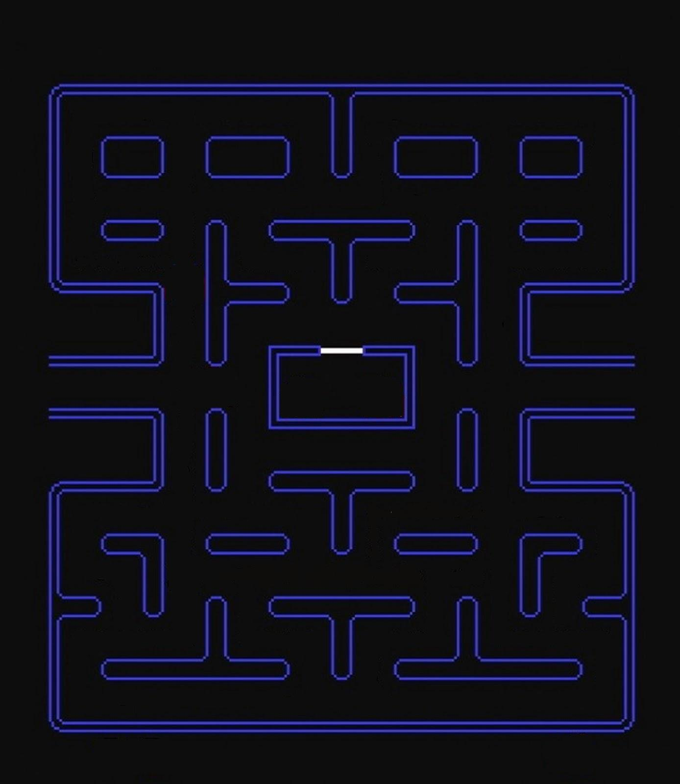 It is a picture of Ridiculous Images of Pac Man
