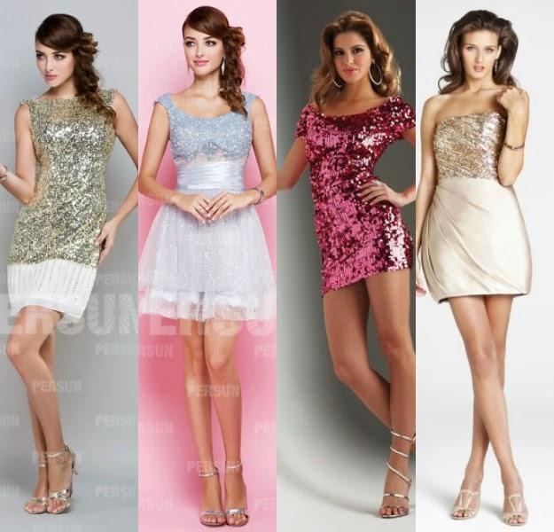 short sequined bridesmaid dresses