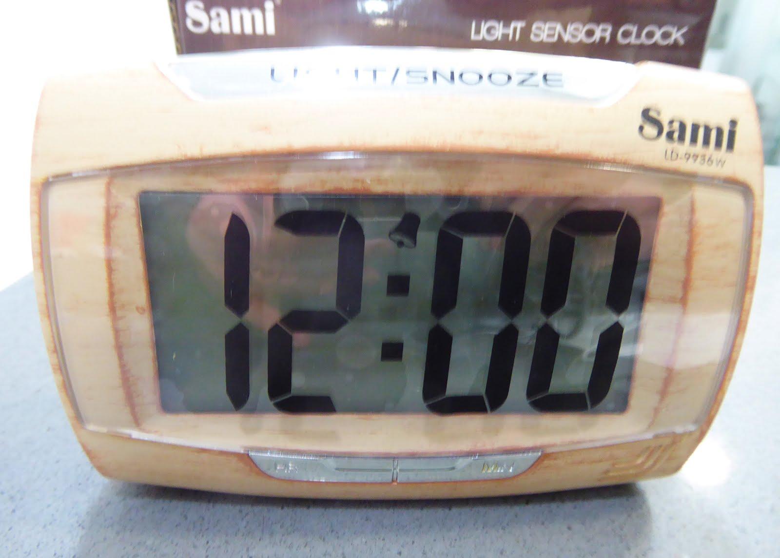 Despertador Sami imitación madera