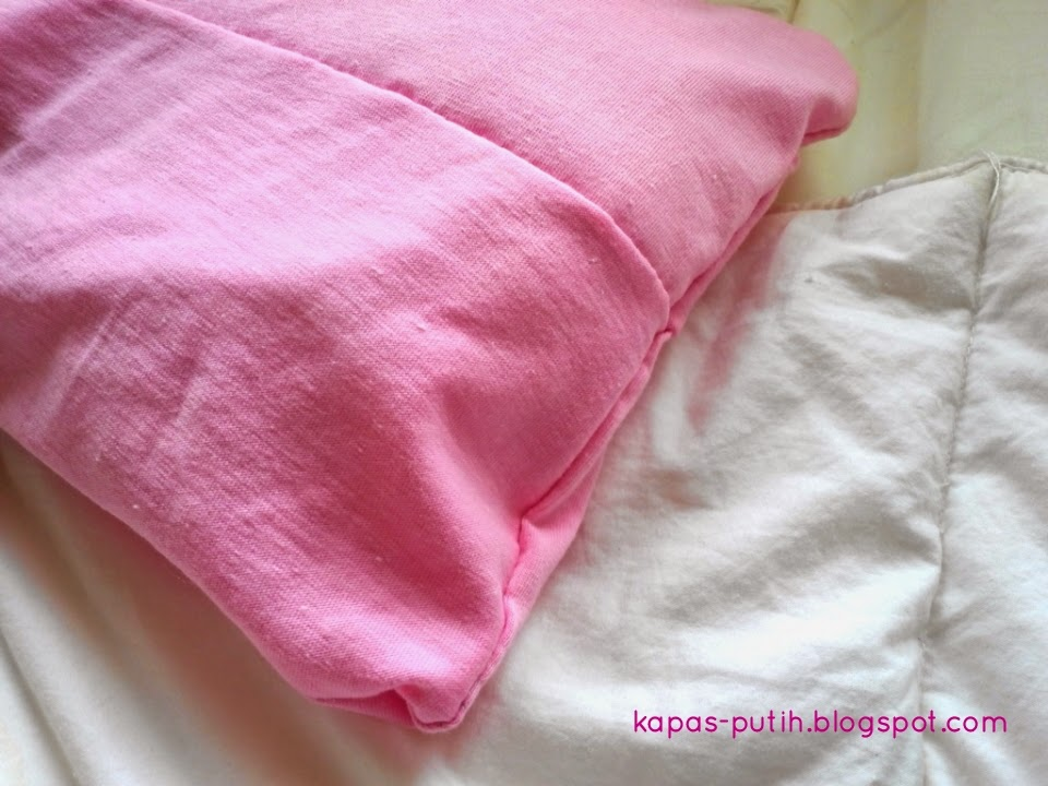 Baby Asy pillow case hand-sew
