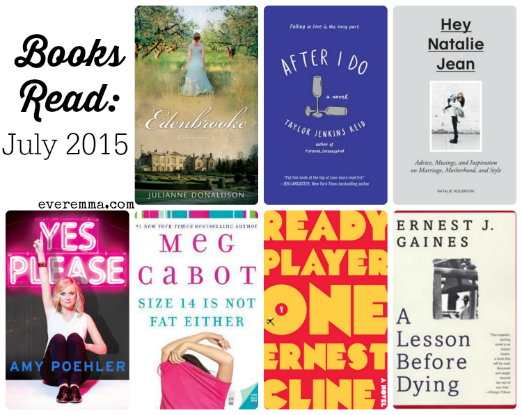 Books Read: July 2015