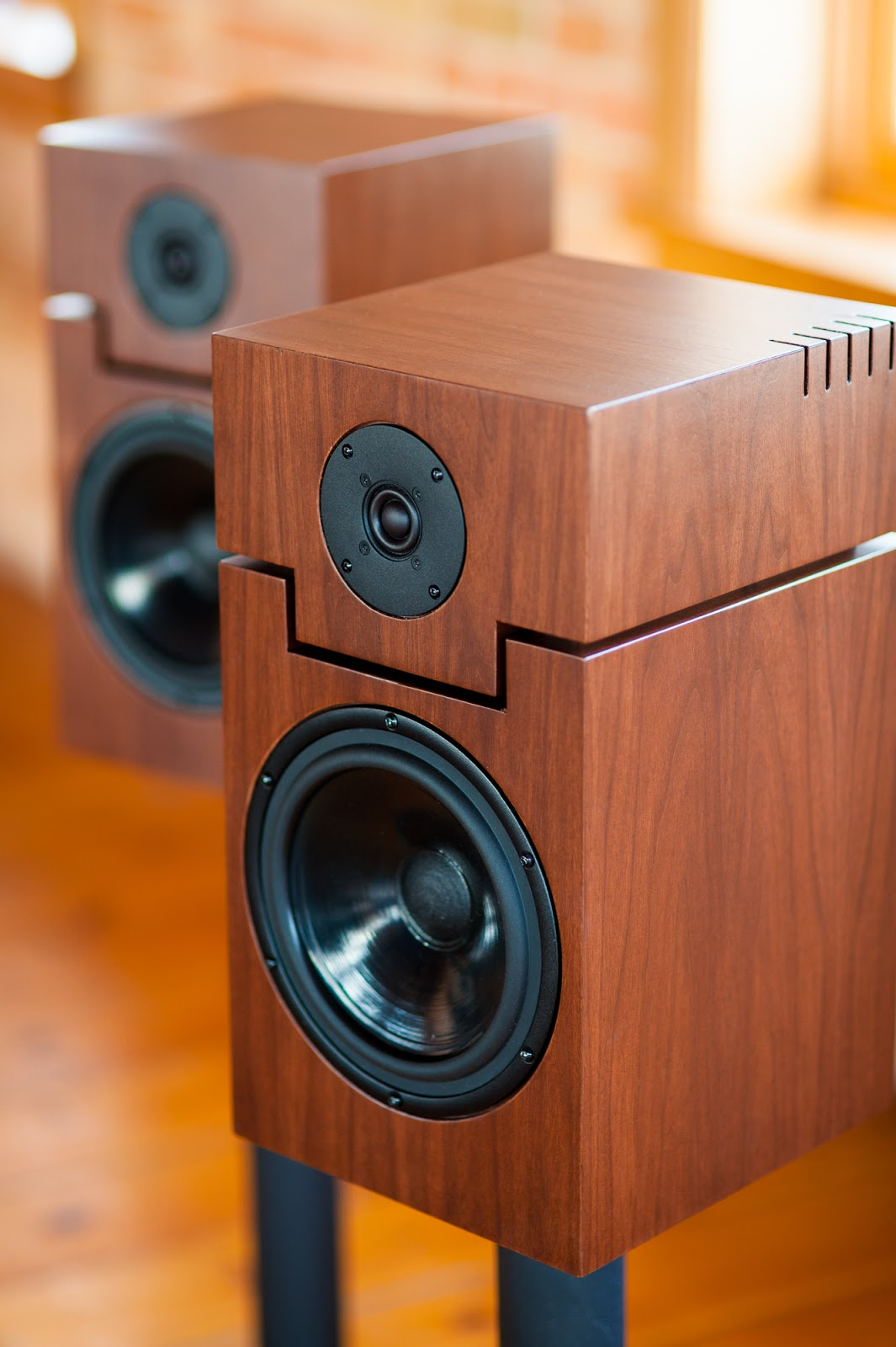 Vintage Sound The Fusion Stand Mount Speakers Deliver