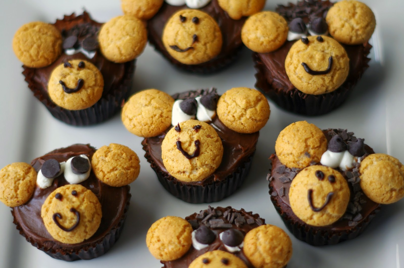 Little Monkey Cupcakes