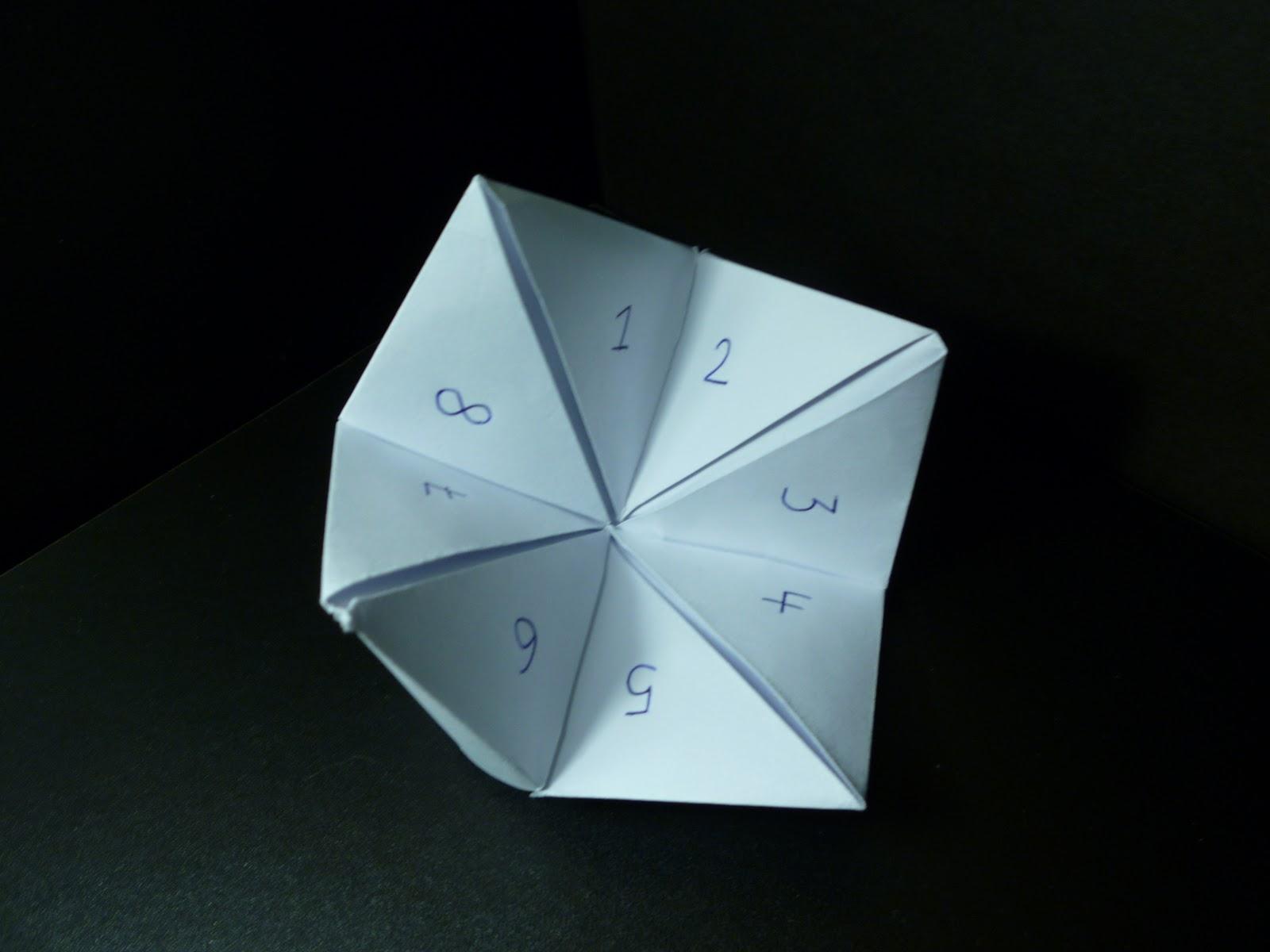 Loren Timms Ba Art Design Hand Made Origami Game