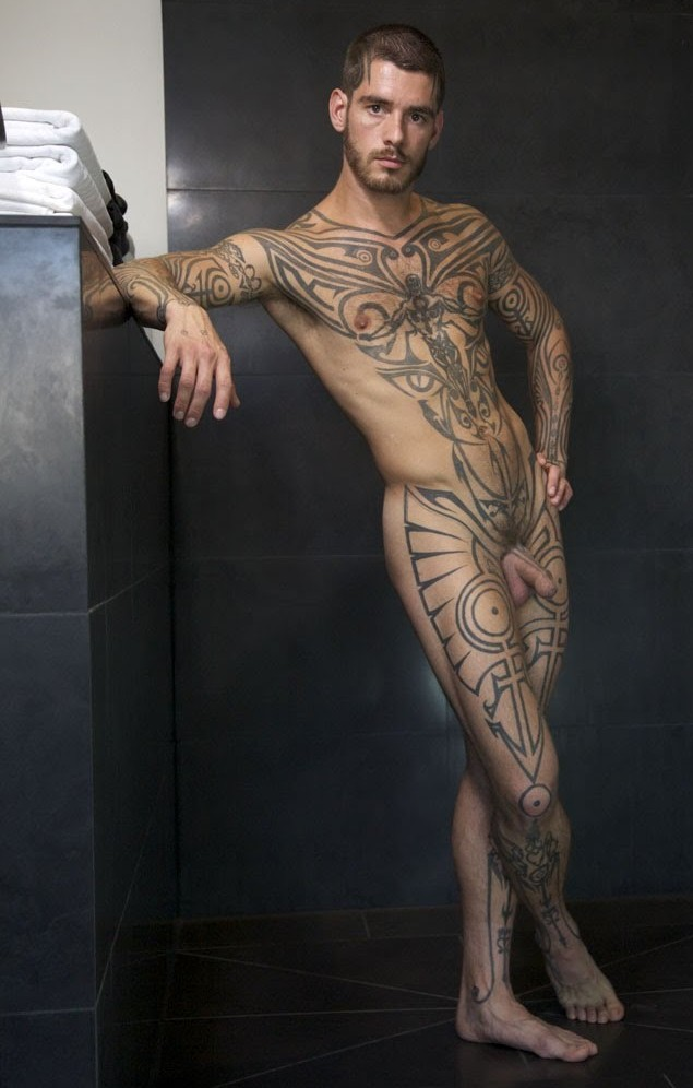 Good Nude male model full body were