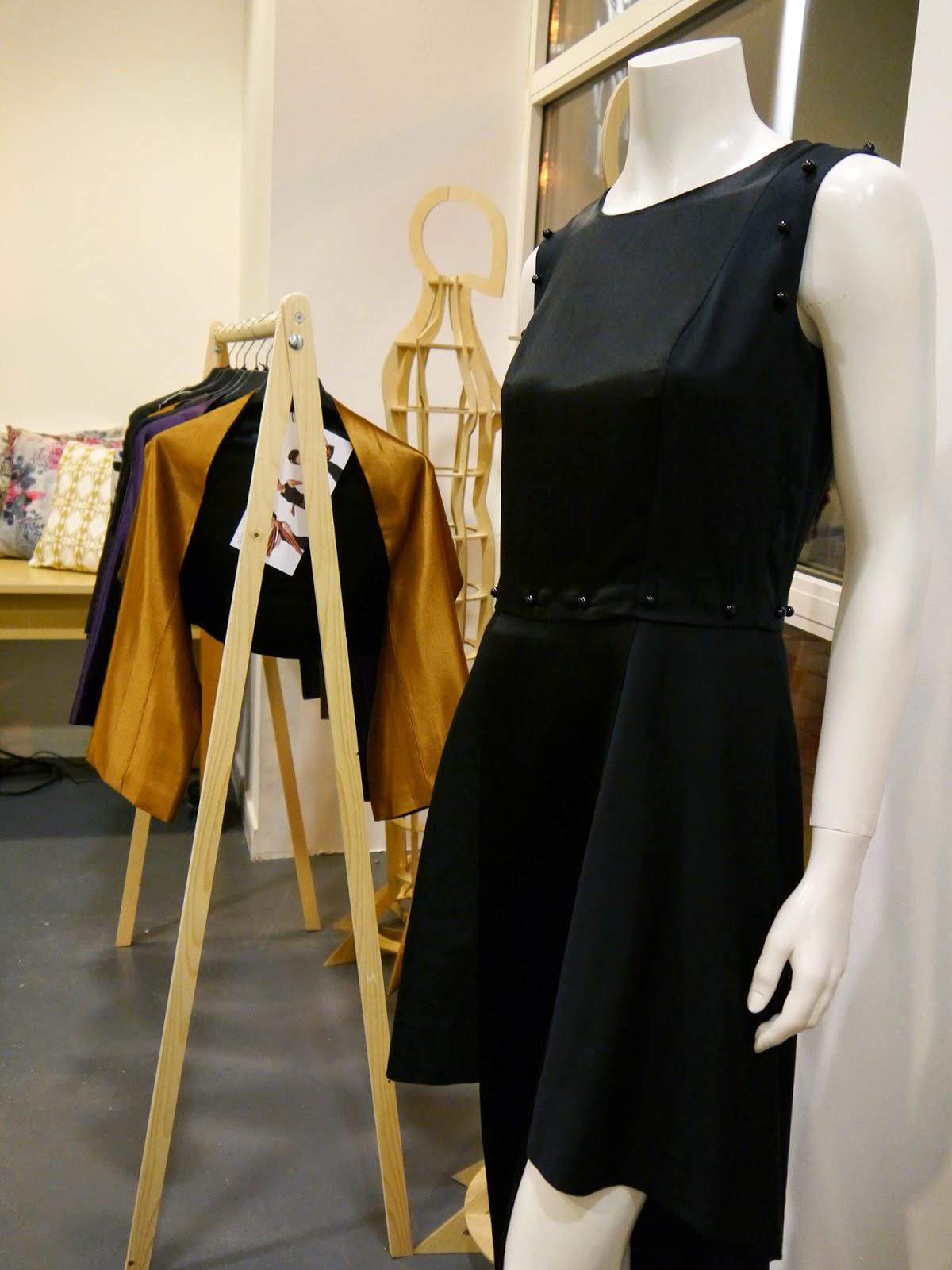 Wear Eponymous, The Wardrobe, Glasgow Fort, Glasgow Pop Up Shop, Shop Display, Scottish Design, Allenomis, womenswear