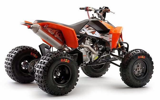 KTM 450 XC and 525 XC ATV New Motorcycels