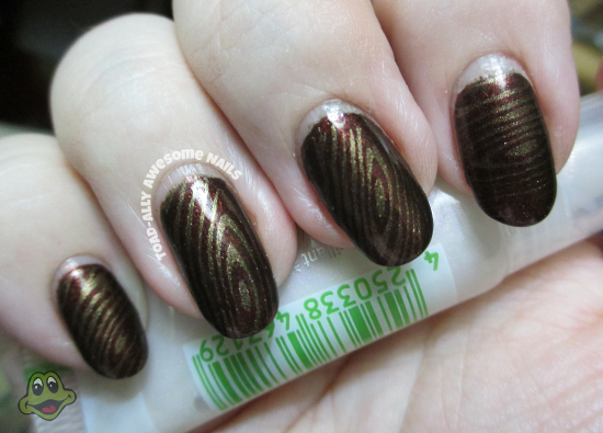 zoya.cheryl.stamped.with.klean.color.coffee.addict.vl019.wood.grain.3