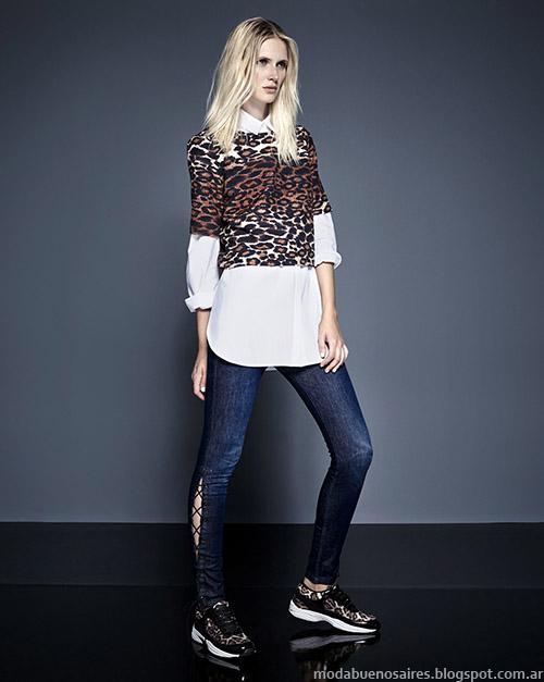 Kosiuko otoño invierno 2015. Moda jeans invierno 2015