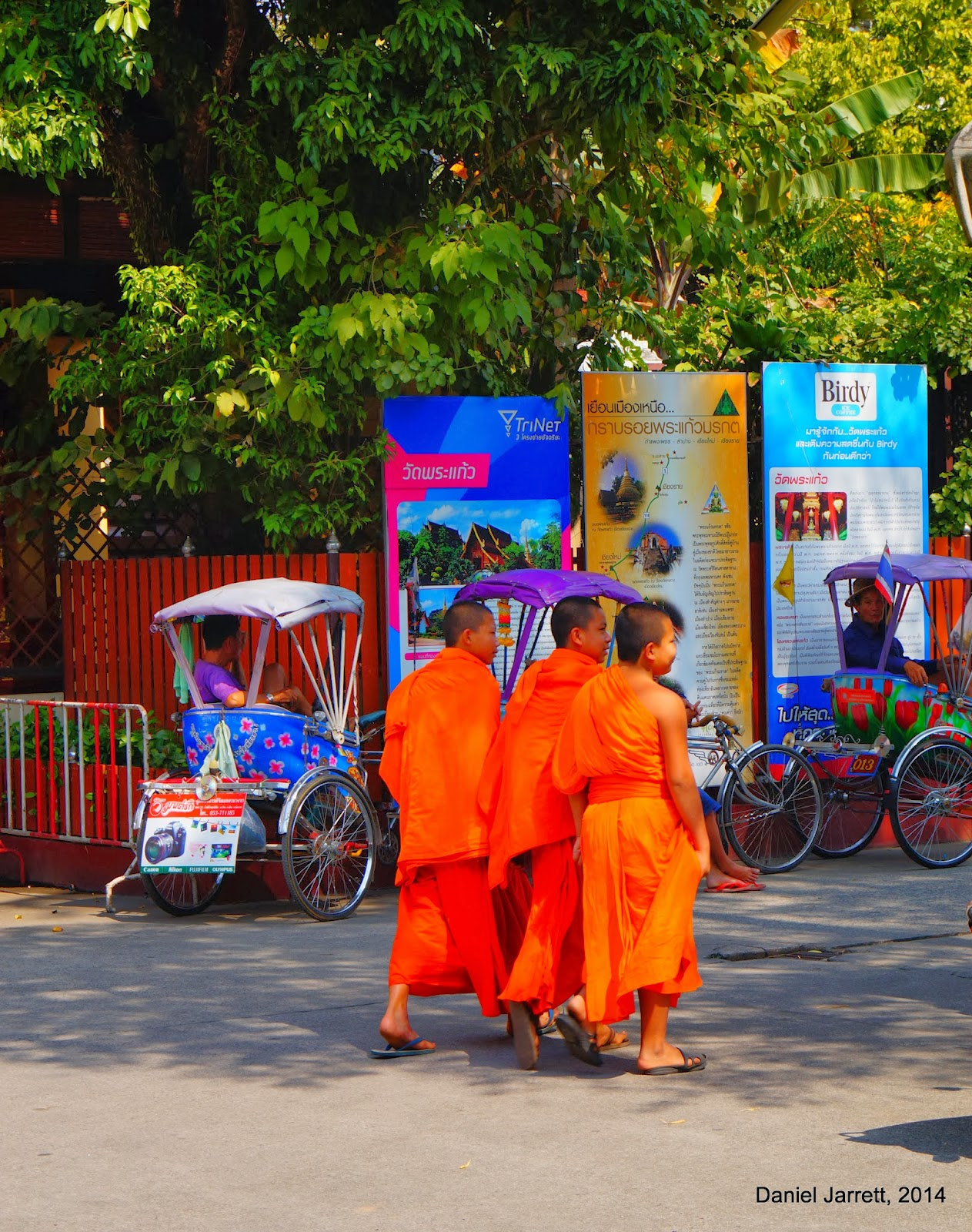 Chiang Rai Buddhist Monks