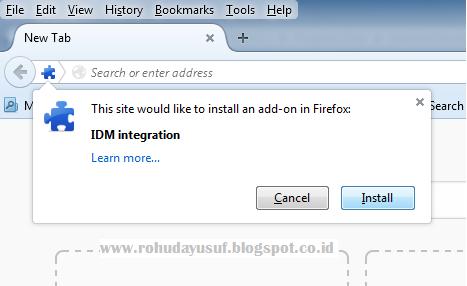 Image Result For Cara Mudah Menyambungkan Idm Ke Mozilla Firefox