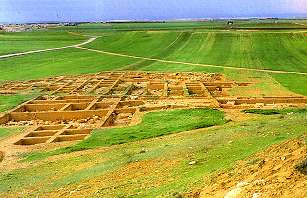 Plano de la ciudad de Ebla