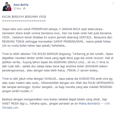 testimoni master zura betty
