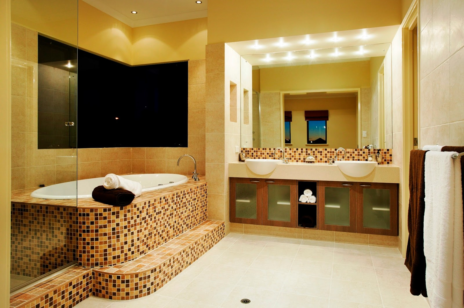 Modern Homes Modern Bathrooms Setting Ideas Home Decoration Ideas