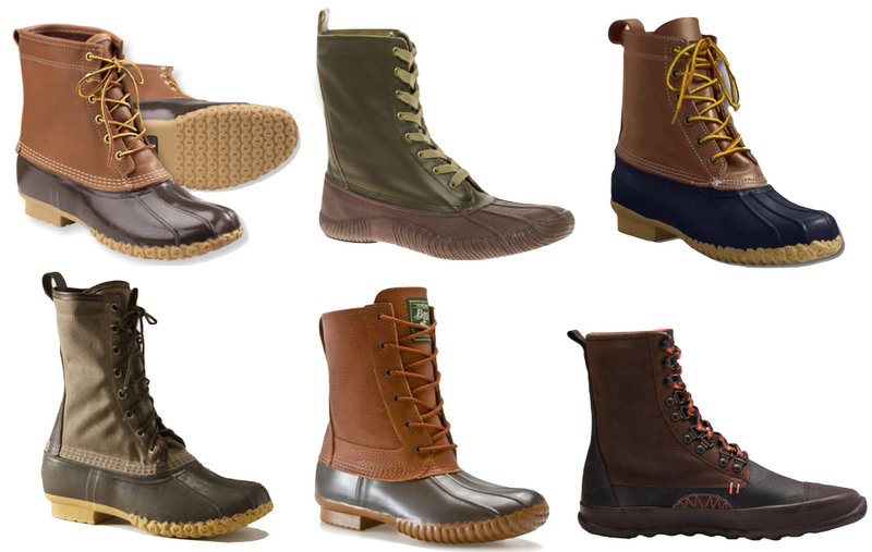 ND to NY: Duck Boots