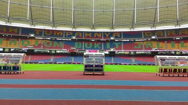 Rahsia Padang Stadium Nasional Bukit Jalil Yang Cantik Dan Berkualiti