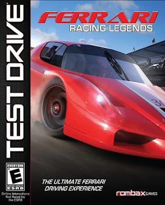 Test Drive: Ferrari Racing Legends PC Cover