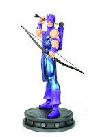 Hawkeye (Marvel Comics) Character Review - Statue Product With Arrow