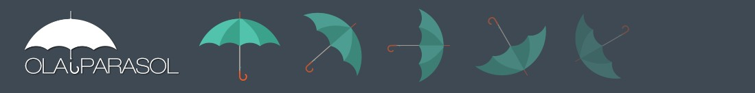 Ola i parasol