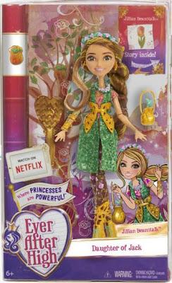 TOYS : JUGUETES - EVER AFTER HIGH Jillian Beanstalk | Muñeca - Doll Producto Oficial 2016 | Mattel  | A partir de 6 años Comprar en Amazon España & buy Amazon USA