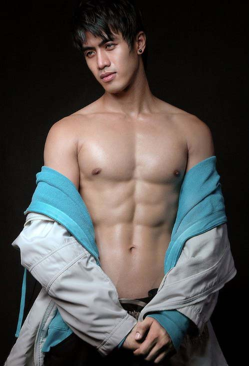 Filipino male model