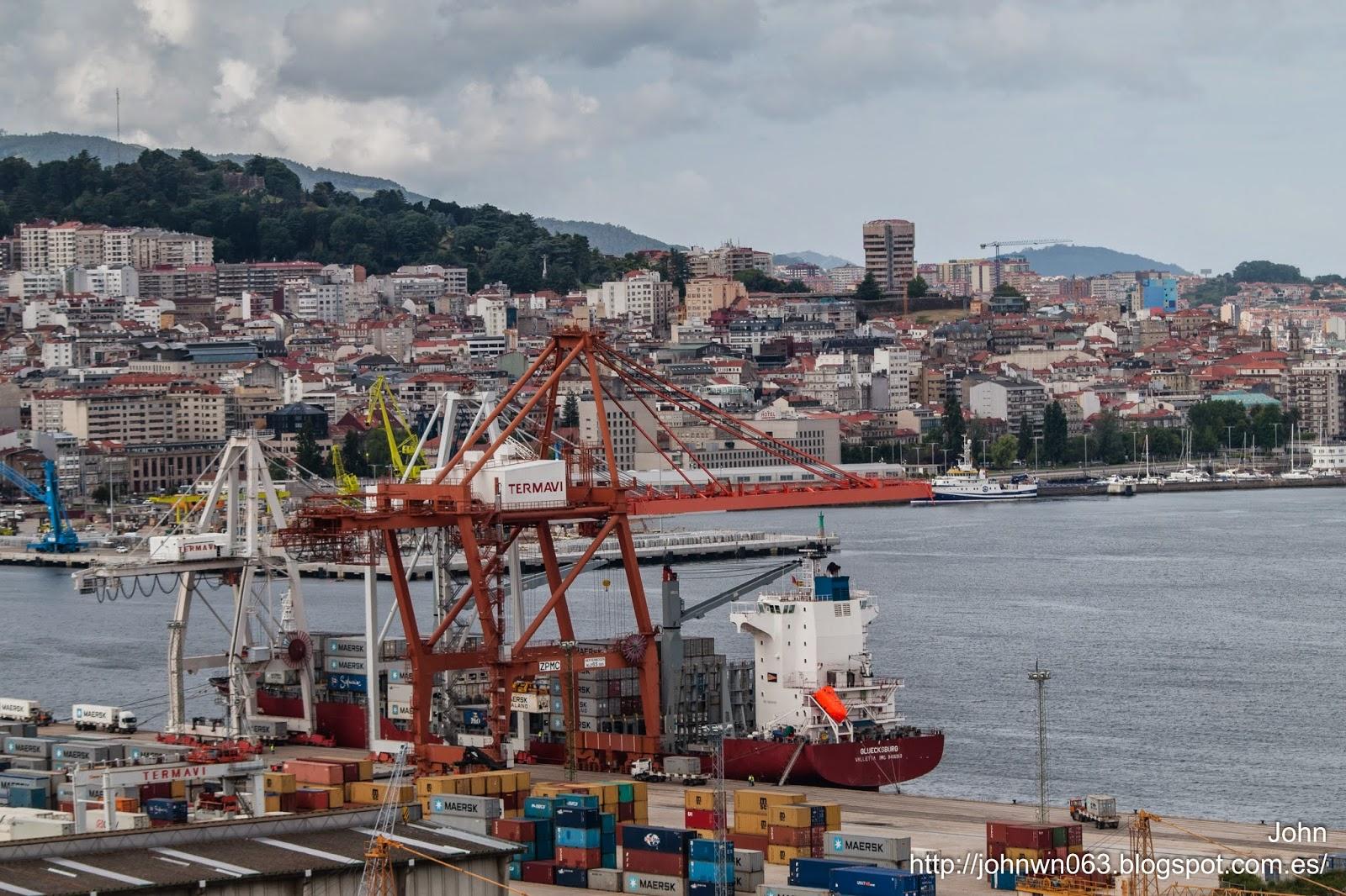 fotos de barcos, gluecksburg, imagenes de barcos, containero, container ship, vigo