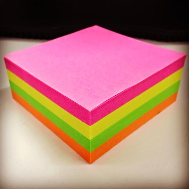 Post-it, rot, gelb, grün, orange, Liebe, Mama, red, yellow, green, orange, love, mom