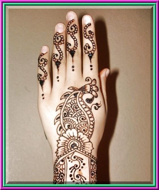Mehndi Henna On Hair : Pakistani mehndi indian arabic menhdi