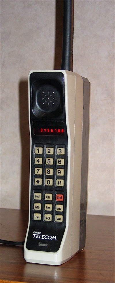 "DynaTAC 8000X ""brick"" phone from 1984"