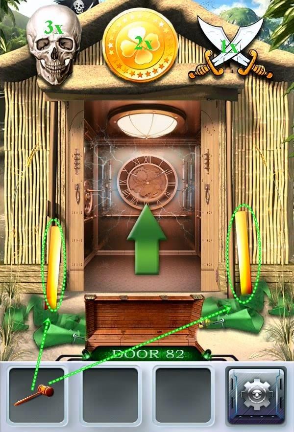 Solution 100 Doors 3 Level 81 82 83 84 85 Escape Game