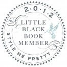Member of Style Me Pretty&#39;s Little Black Book