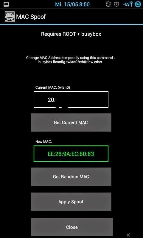 Cara Merubah Mengganti Mac Adress Ponsel Android