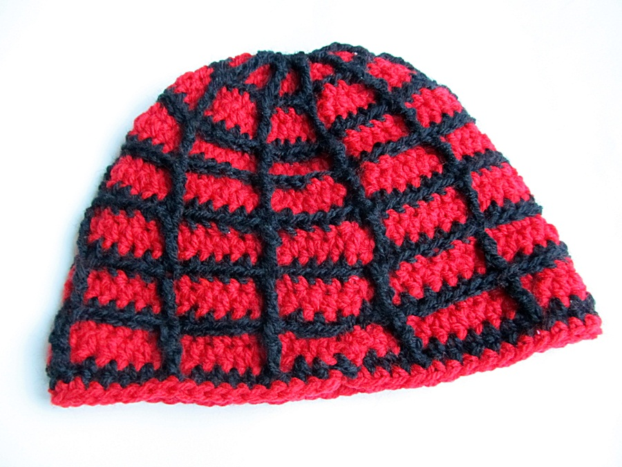Crochet Spiderman Hat - Little Things Blogged