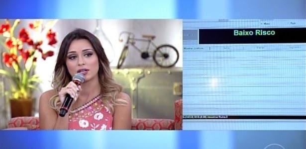 """Letícia diz que não beijou Marcelo e detector de mentiras acusa """"estresse"""""""