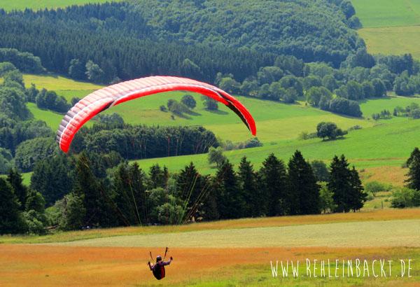 Hessische Rhön Rhoen Wasserkuppe Paraglider | Foodblog rehlein backt