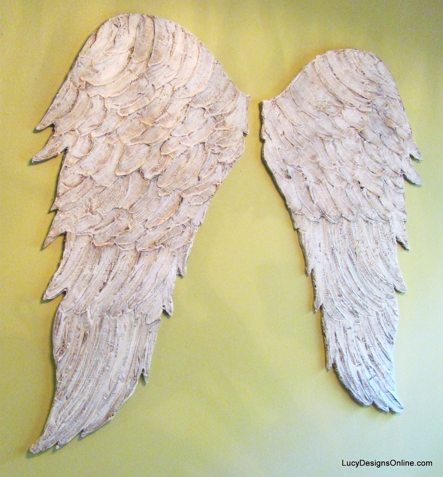Angel Wings Wall Decor Wood ~ Angel wings wall decor home distressed