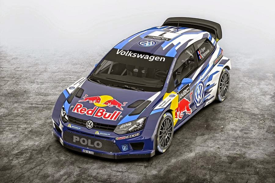 Volkswagen Polo R WRC 2015 Front Side 1