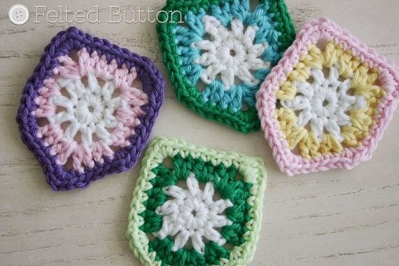 Bike Basket Bunting -- Free Crochet Pattern