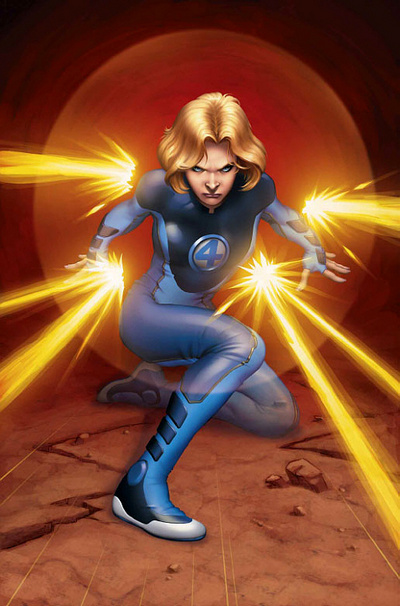 Invisible Woman (Marvel Comics) Character Review - 2