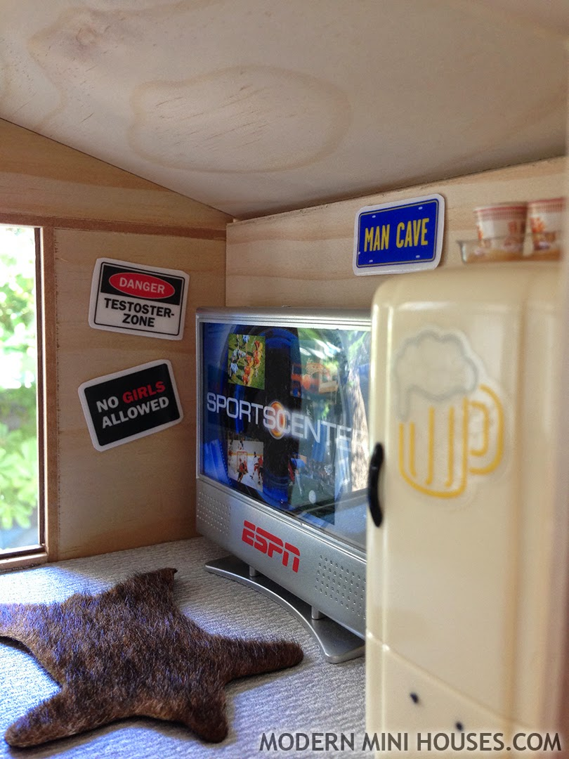 Small Man Cave Fridge : Quot lake front property with gorgeous view needs a little